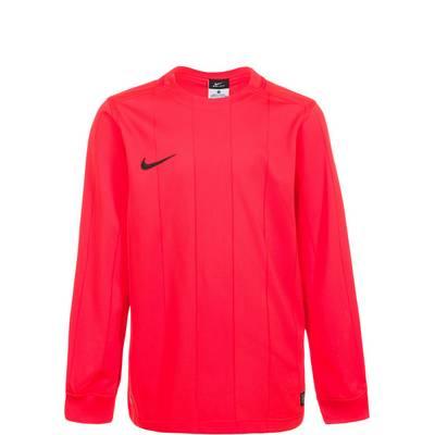 Nike Striped Segment II Fußballtrikot Kinder rot / schwarz