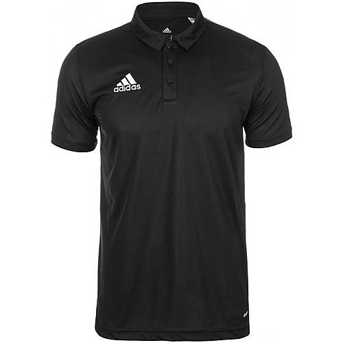 adidas Core 15 Poloshirt Herren schwarz / weiß