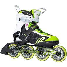 K2 Helena 90 Fitness Skates Damen grün/silber