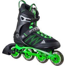 K2 F.I.T. Pro 84 Fitness Skates Herren schwarz/grün