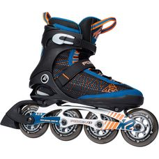 K2 Power 90 Fitness Skates Herren blau/orange