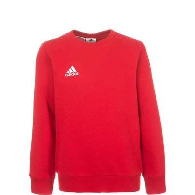 adidas Core 15 Sweatshirt Kinder rot / weiß