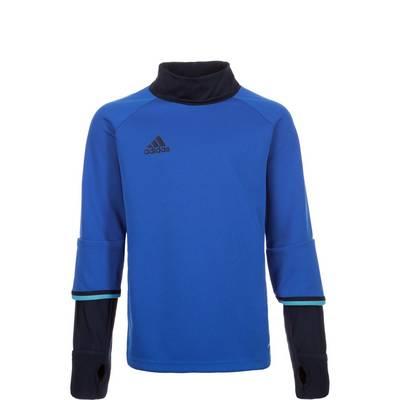 adidas Condivo 16 Sweatshirt Kinder blau / dunkelblau