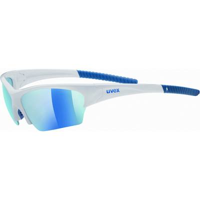 Uvex Sunsation Sportbrille white blue