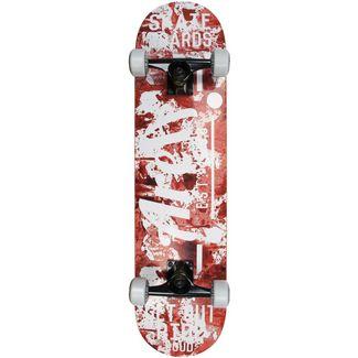 AREA Gori Skateboard-Komplettset Rot
