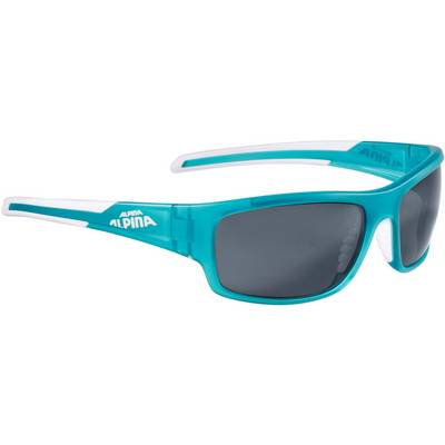 ALPINA Sportbrille petrol matt-white