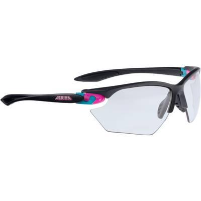 ALPINA Sportbrille schwarz/ pink/ blau