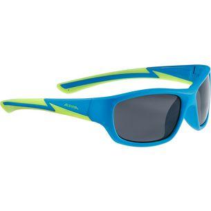 ALPINA FLEXXY YOUTH Sportbrille blue matt-lime