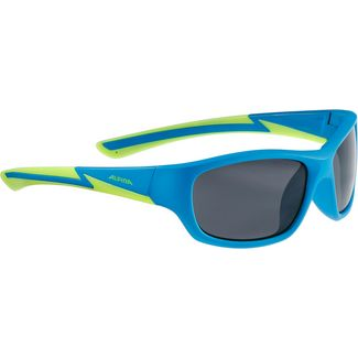 ALPINA FLEXXY YOUTH Sportbrille blue matt-lime