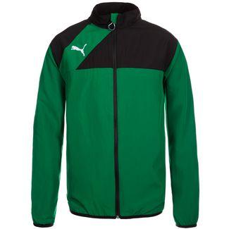 PUMA Esquadra Woven Trainingsjacke Herren grün / schwarz