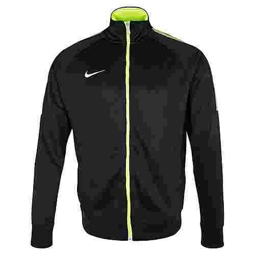 Nike Team Club Trainingsjacke Herren schwarz / lime