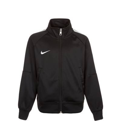 Nike Team Club Trainingsjacke Kinder schwarz / weiß