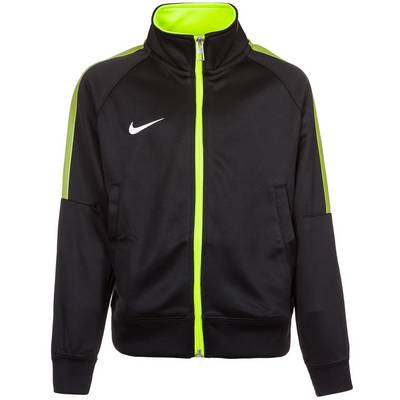 Nike Squad 15 Sideline Trainingsjacke Kinder schwarz / lime