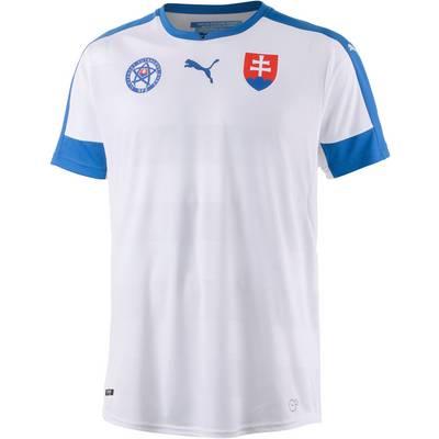 PUMA Slowakei EM 2016 Heim Fußballtrikot Herren weiß/blau