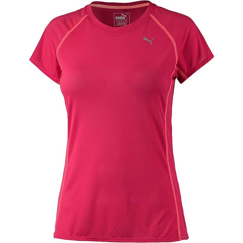 d4d5e46be1b9 PUMA Funktionsshirt Damen rot orange im Online Shop von SportScheck ...