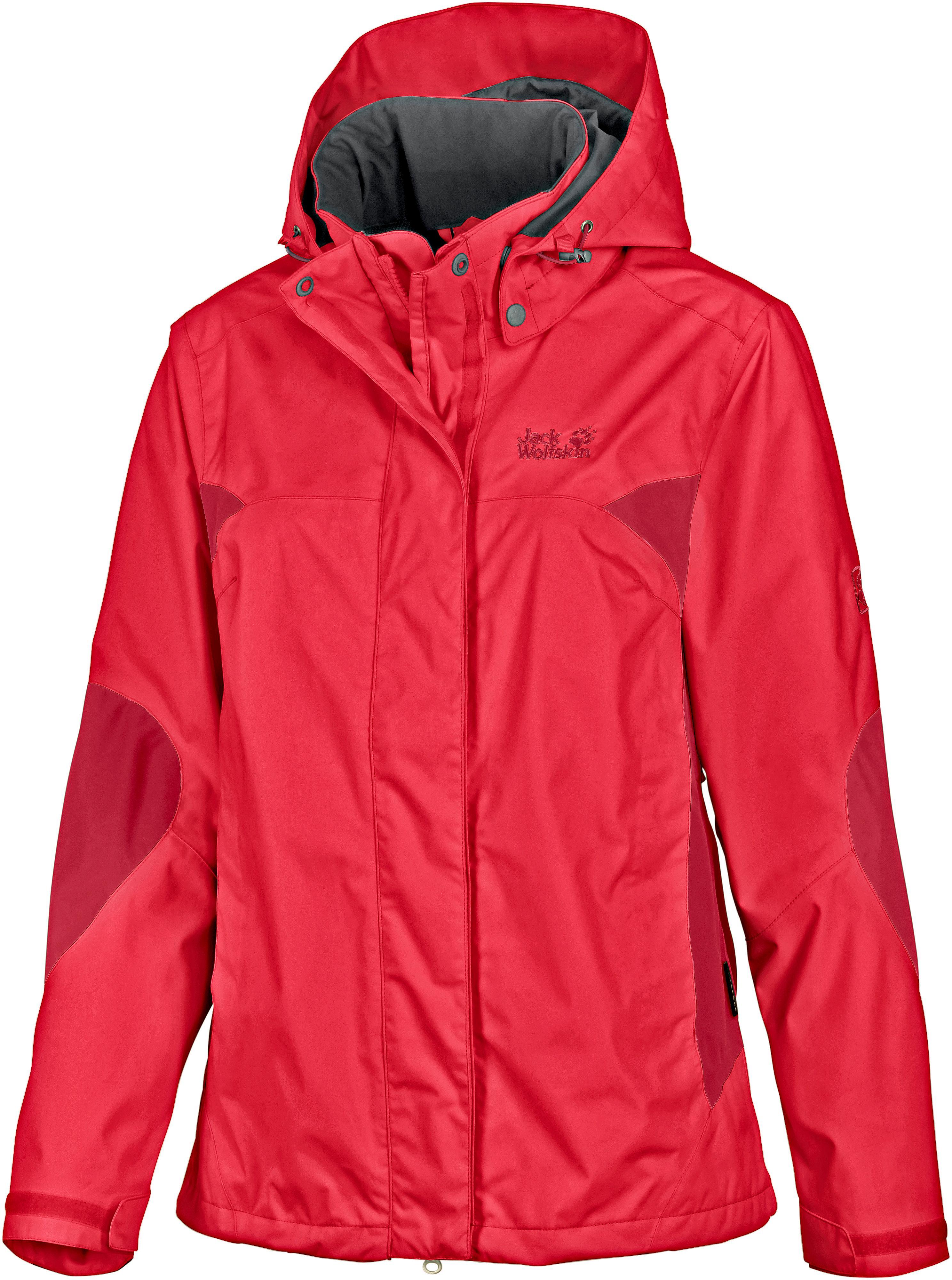 Jack Wolfskin Onyx Funktionsjacke Damen rot im Online Shop von SportScheck kaufen