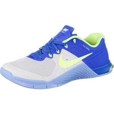 Nike Metcon 2 Fitnessschuhe Damen royal/hellgrün