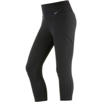 Nike Baseline Tights Damen schwarz
