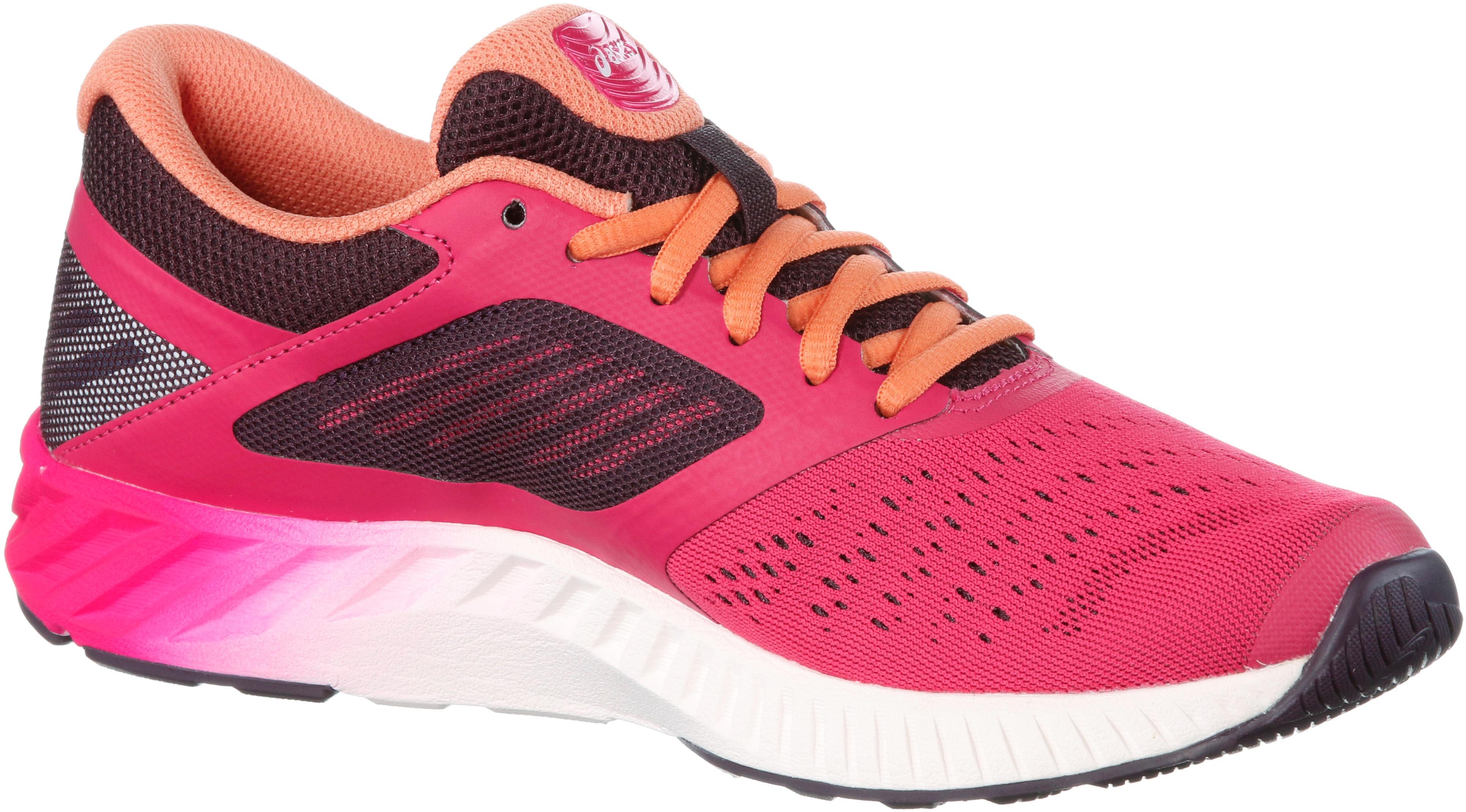 ASICS fuzeX LYTE Laufschuhe Damen pinkorange im Online Shop von SportScheck kaufen