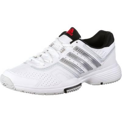 adidas Barricade Court 2 Tennisschuhe Damen weiß/silber