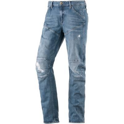 G-Star 5620 3D Low Boyfriend Boyfriend Jeans Damen light used denim