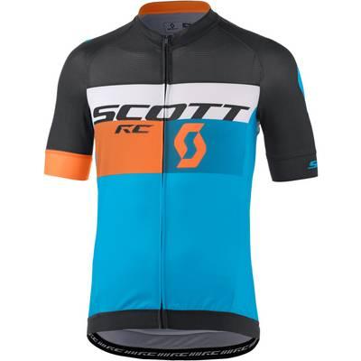 SCOTT RC Pro Fahrradtrikot Herren blau orange