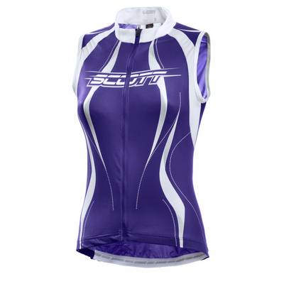 SCOTT Fahrradtrikot Damen violett