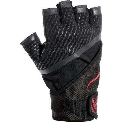 Nike Fitnesshandschuhe Herren schwarz/rot