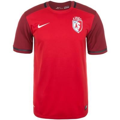 Nike OSC Lille 15/16 Heim Fußballtrikot Herren rot / weiß
