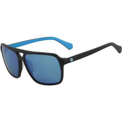 Dragon Passport Sonnenbrille matte black/sky blue ion