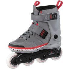 K2 Midtowm Fitness Skates Herren grau/rot