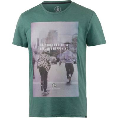 Volcom Liberated Printshirt Herren mint