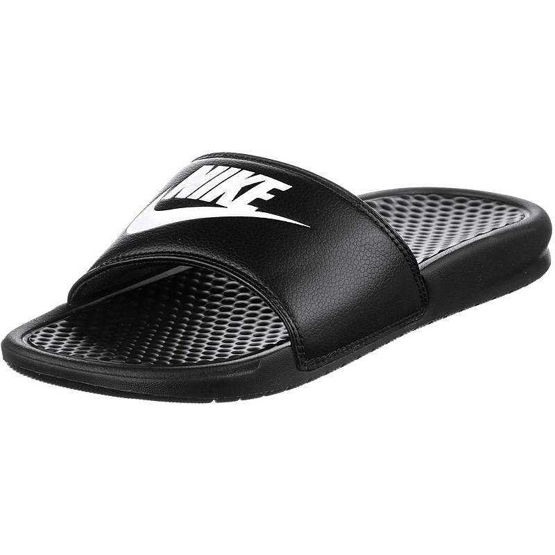 premium selection 9cd34 23bce Nike Slides Benassi JDI Badelatschen Herren black-white