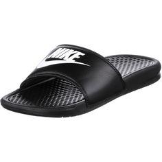 Nike Slides Benassi JDI Badelatschen Herren black-white