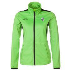 KAPPA Borussia Mönchengladbach Trainingsjacke Damen grün / schwarz