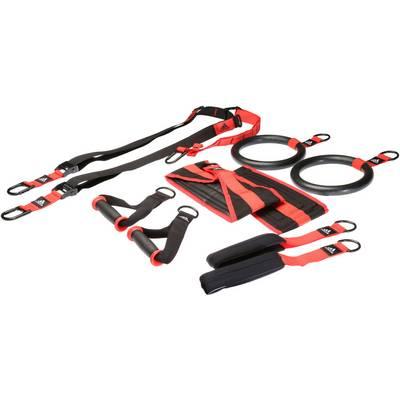 adidas Schlingentrainer schwarz/rot