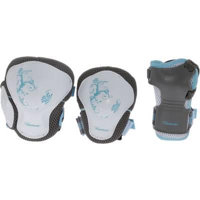 POWERSLIDE Pro Air Pure Protektorenset Damen grau/weiß