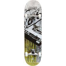 AREA Basement Board Skateboard-Komplettset Weiß