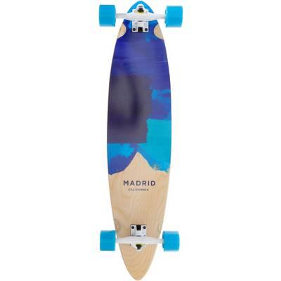 Madrid Blues Longboard-Komplettset blau