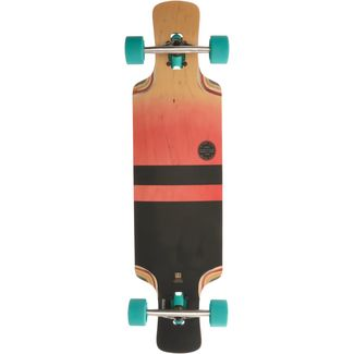 "Globe Geminon Kick 37.5"" Longboard-Komplettset orange/schwarz"