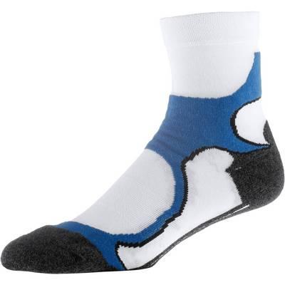 Rohner Laufsocken weiss/blau