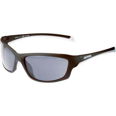 ALPINA Sonnenbrille black matt-white