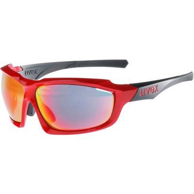 Uvex Sportbrille red black