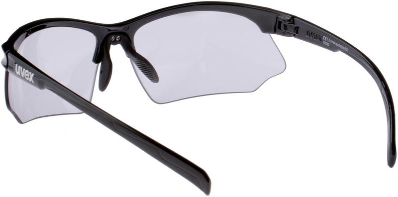 Uvex sportstyle 802 v Sportbrille Black