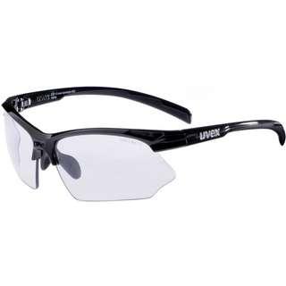 Uvex Sportstyle 802 v Sportbrille black-variomatic smoke