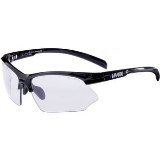 Uvex Sportstyle 802 v Sportbrille black/variomatic smoke