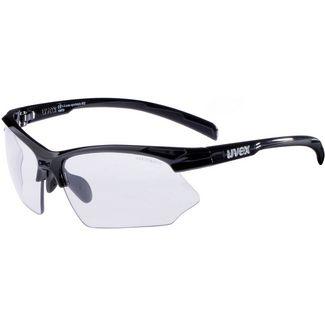 Uvex Sportstyle 802 v Sportbrille black/variomatic smoke