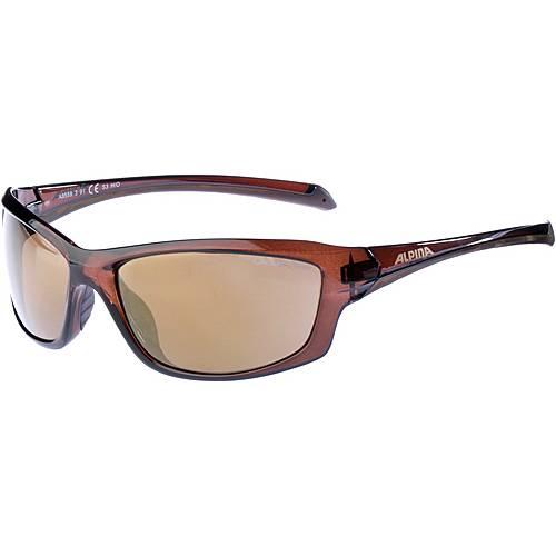 ALPINA Sonnenbrille brown transparent