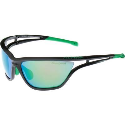 ALPINA Sportbrille black matt-green