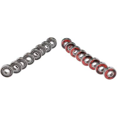 POWERSLIDE WCD ABEC 7 Freespin Kugellager silber/rot